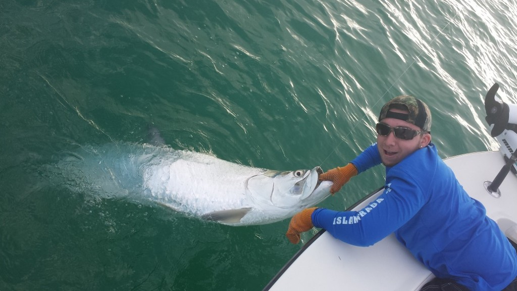 April tarpon fishing islamorada for Islamorada florida fishing